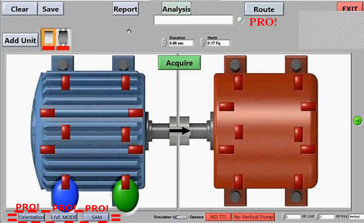 vibration analysis, dt6, engineering, machinery